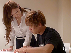 Special Lesson Of The Tutor Who Is Too Beautiful – I Also Improved My Grades Over There!